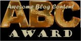 ABC Blogging Award